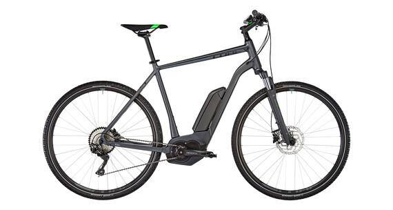 Cube Cross Hybrid Pro 400 E-Cross Bike grey